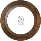 "Round Oak Frame 5.5"" x 5.5"" (137mm x 137mm)"