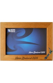 "6"" x 4"" Rimu Paua New Zealand Frame"