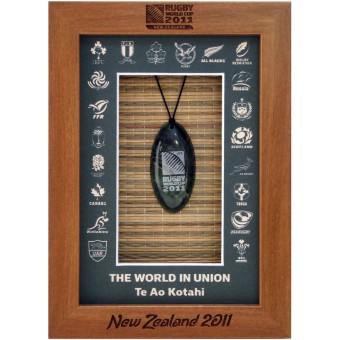World in Union Framed Greenstone