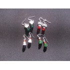 Swarovski Crystal Xmas Tree Earrings*