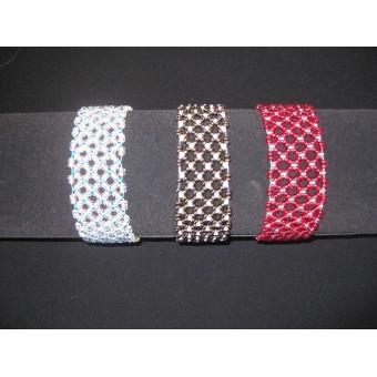 Dual Colour Beaded Bracelet