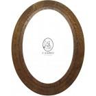 """Oval Oak Frame 10"""" x 8"""" (254mm x 203mm)"""