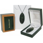 Greenstone Pendant Rugby Ball